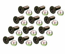 12 Caterpillar Style Skid Steer Cutting Edge Bolts W Nuts 159 2953 8t 4778
