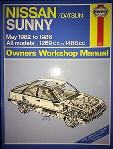 Nissan-Sunny-Manual-1982-1986