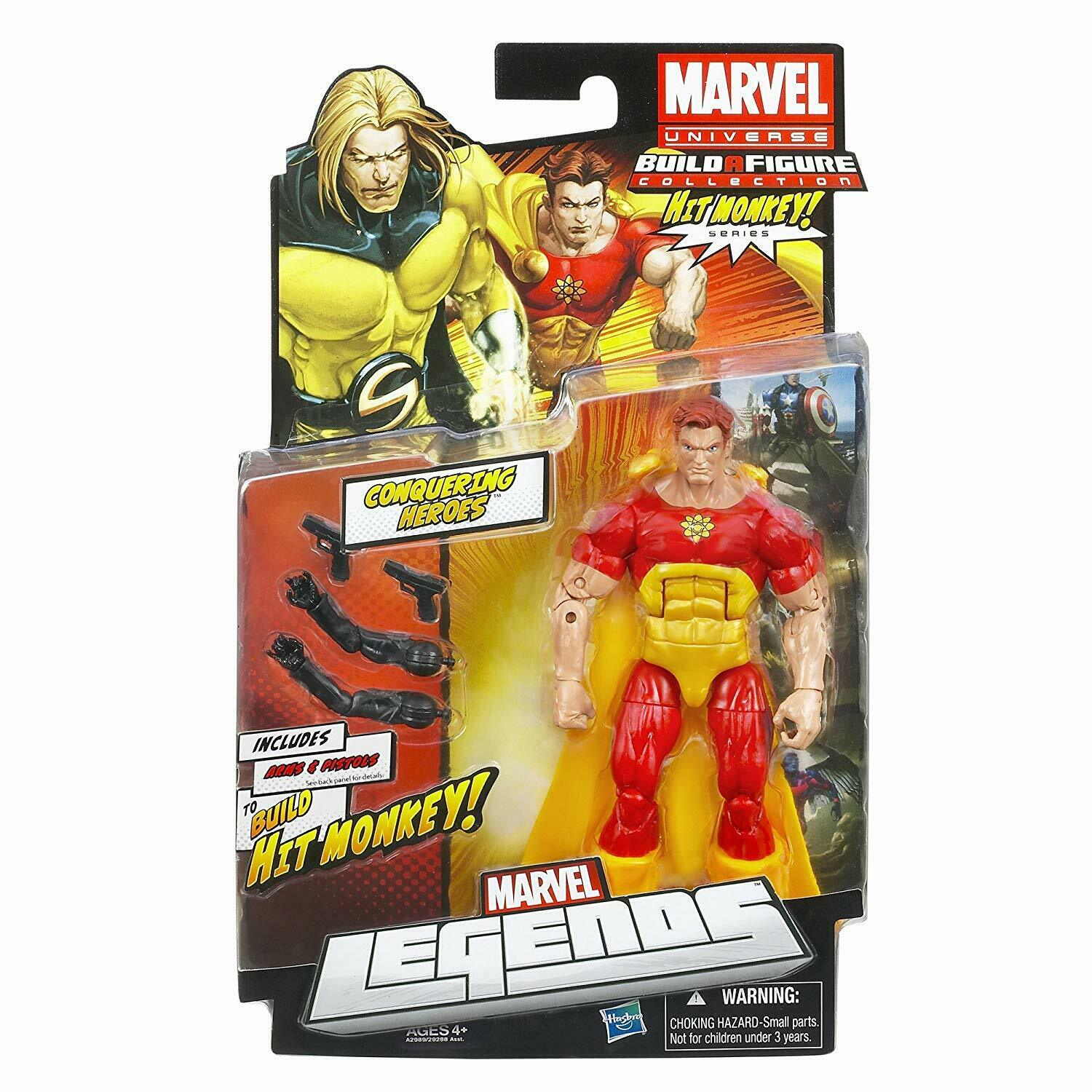 NEW Marvel Legends Hit Monkey CONQUERING HERO HYPERIO Action 2012
