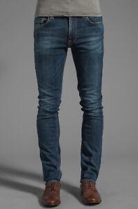 Nudie-Herren-Slim-Skinny-Fit-Stretch-Roehren-Jeans-Tape-Ted-Authentic-Snake