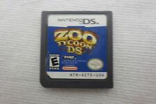 Nintendo DS Zoo Tycoon Game