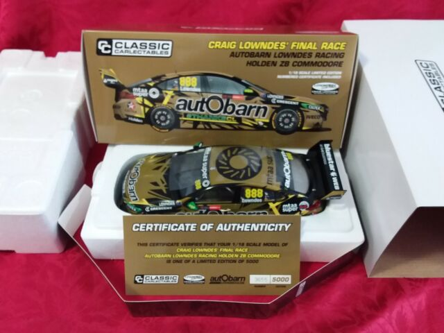 Classic Carlectables  1:18 Craig Lowndes Final; Race ZB Commodore