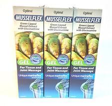 Optima Musselflex & Glucosamine Gel - 125ml  x 3