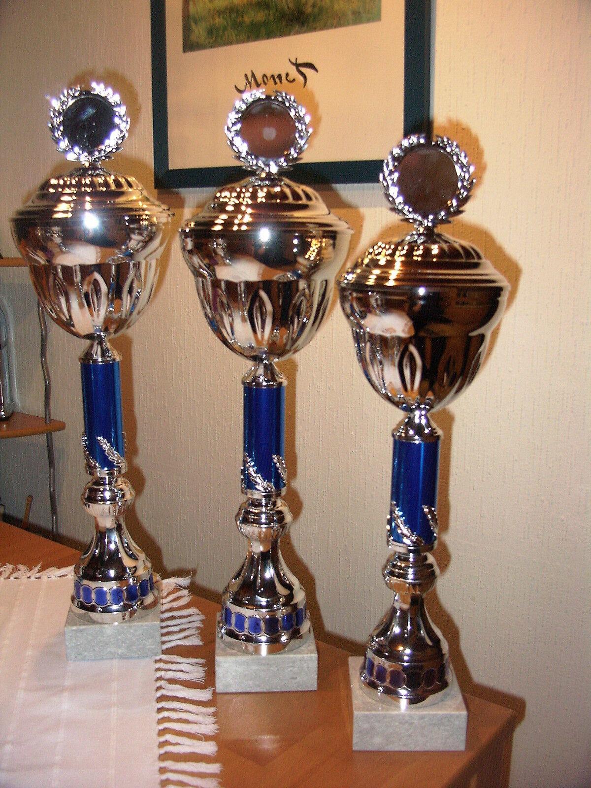 Große Pokale 3er Serie 58 56 54 cm auf wunsch auch gerne größer