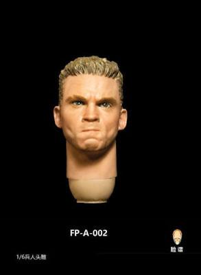 1//6 FacepoolFigure FP-A-001 Head Sculpt w// Expression Fit 12/'/' Male Action Figur