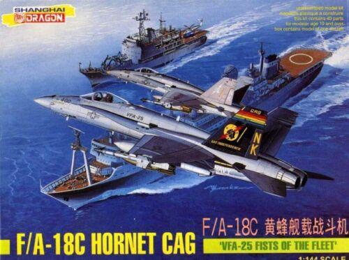 1:144 Dragon #4562 F//A-18C Hornet CAG