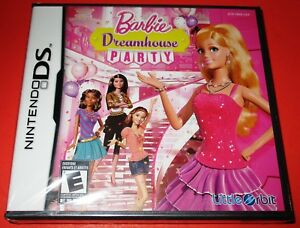 Details About Barbie Dreamhouse Party Nintendo Ds Dsi Lite Xl 3ds New Free Shipping