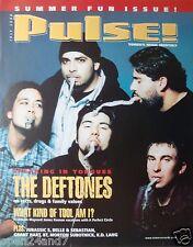 "Deftones ""Pulse Magazine July 2000"" U.S. Promo Poster - Group Throwing Up!"