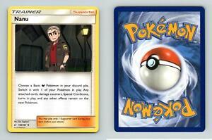 Nanu 150//181 Pokemon Sun /& Moon Team Up SM-9 TCG Uncommon Reverse Holo Card
