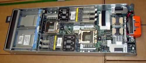 2×600GB SAS RAID HP BL460c G7 Blade Server 2×Xeon Quad-Core 2.53GHz 96GB RAM