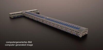 Harbour Bridge Building for ship models 1//1250 scale