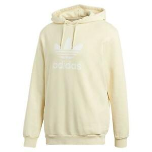 low cost 100% quality fresh styles Details zu adidas ORIGINALS MEN'S YELLOW TREFOIL HOODIE WARM COMFY RETRO  VINTAGE HOODED NEW