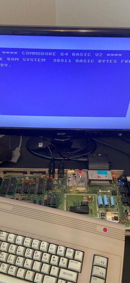 PLA GAL chip , Commodore 64