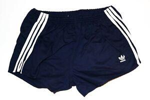 Details about Adidas Vintage 80s Shorts Cotton Sports Pants Sprinter Size D8 XL Blue PS3 show original title