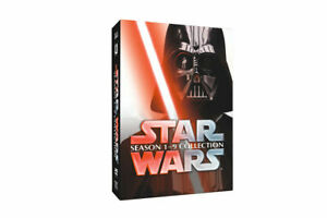 Star-Wars-Saga-Movie-Episodes-Season-1-9-Complete-15-DVD-Set-Collection-1-9-New