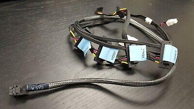 DELL EMC 4B HDD BACKPLANE H740 H730 PCI RAID CABLE POWEREDGE SERVER R440 8YMGD