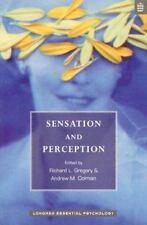 Sensation and Perception (Longman Essential Psychology Series)