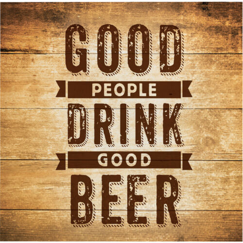 16 x Drink Good Beer Beverage Napkins Adults Mens Party Tableware Supplies Lager