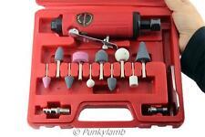 "15pc 1/4"" Inch Air Die Straight Grinder Compressor Kit Garage Workshop Tool New"