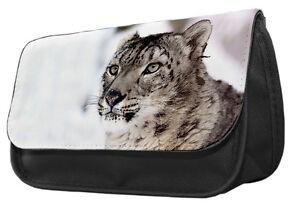 Giraffe Pencil Case Make up bag 026 kids college school Africa gift idea