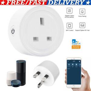 eWelink-ZigBee-3-0-Smart-UK-Plug-Socket-Outlet-for-Alexa-Samsung-SmartThings-HOT