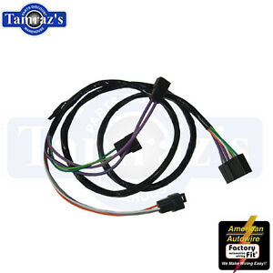 70 chevelle wiring harness diagram internal regulator 1969-1972 chevelle monte carlo console extension wiring ... #10