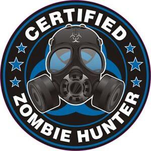 Zombie-Hunter-brote-Surf-Vinilo-Calcomania-Pegatinas-Euro-Jdm-Dub-Vw-Gracioso-portatil