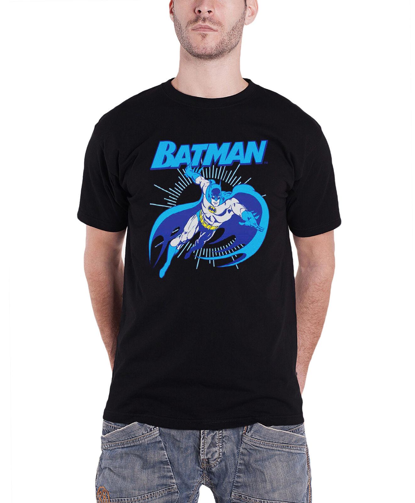 Batman T Shirt Homme Homme Homme Batman Bond Vintage Officiel DC COMICS Noir S bded97