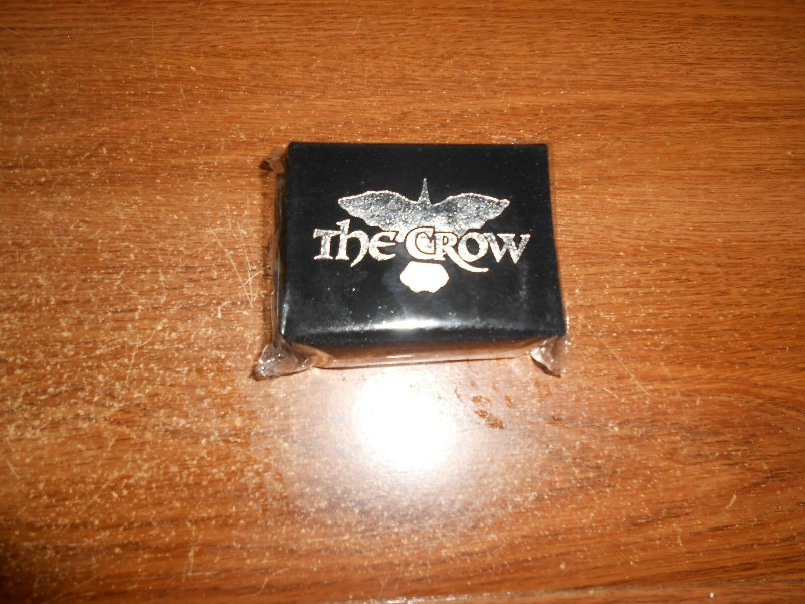 NECA VERY RARE 1990's THE CROW REAL LOVE IS FOREVER RING SET EVEN MORE RARE SEAL