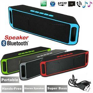 10w Bluetooth Wireless Lautsprecher Portable Bass Indoor Outdoor Stereo Lautsprecher