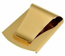 Double-Sided Smart Money Clip  Credit Card Holder For Men, Gold Money cash NEW