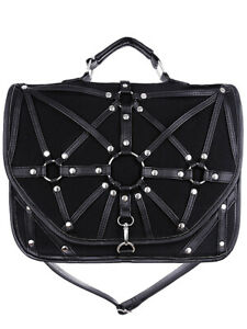 Bag-Black-Saddlebag-60-039-s-90-Harness-and-Straps-restyle-restyle