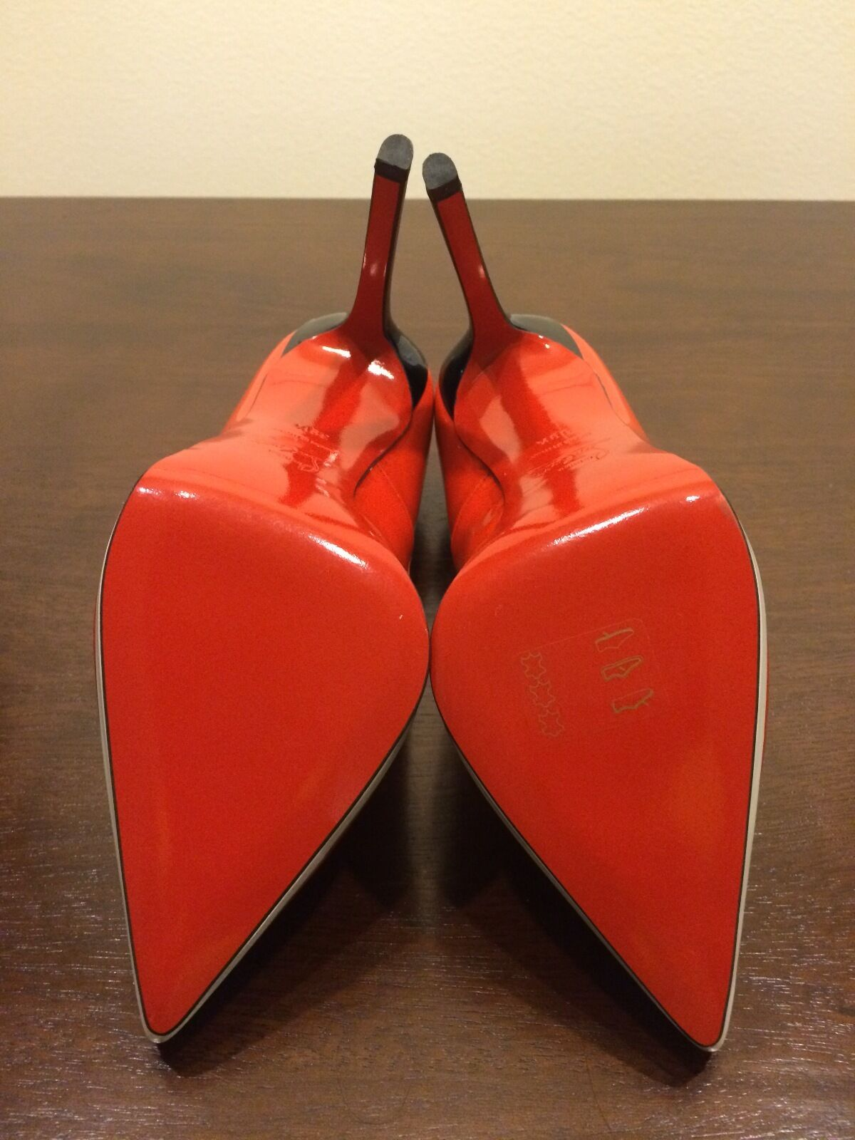 Christian Louboutin Red Red Red Plato Size 39.5 5890c9