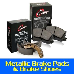 Front Rear Metallic Brake Pads /& Brake shoes 2SET Fits Nissan Sentra 2002