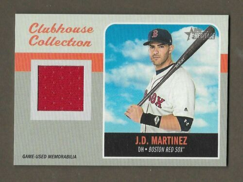 2019 TOPPS HERITAGE CLUBHOUSE COLLECTION RELIC PICK ANY U NEED FREE SHIPPING