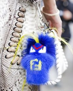 f8c9f5c0fb AUTHENTIC NEW FENDI FENDIRUMI BUG-KUN RUNWAY SHOW KEY CHAIN CHARM ...