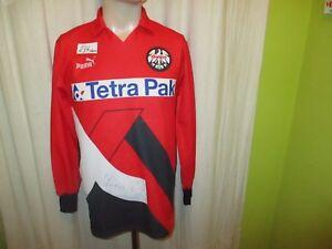 Eintracht-Frankfurt-Original-Puma-Langarm-Trikot-1994-95-034-Tetra-Pak-034-Gr-S-M