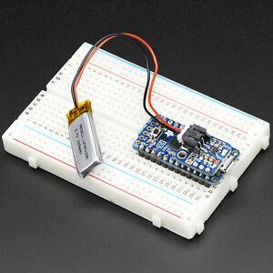 Adafruit Pro Trinket LiIon/LiPoly Backpack Add-On, LiPo-Lademodul<wbr/>, Lader, 2124