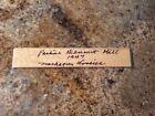 aagpbl autograph 1947 Muskegon Lassies  Pauline Dennert Hill