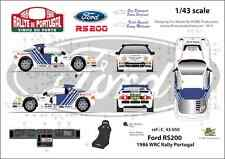 [FFSMC Productions] Decals 1/43 Ford RS 200 Rallye du Portugal 1986