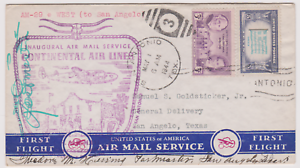 LETTRE-AERIENNE-US-AIR-MAIL-1944-FIRST-FLIGHT-NEWARK-SAN-ANGELO-TEXAS-1944-AM-29