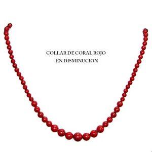 COLLAR-de-CORAL-ROJO-en-disminucion-5-6-8-y-10-mm-y-bello-cierre-Silver-Plated