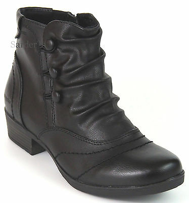 Hush Puppies Ankle Boots 36 Kunstleder Stiefelette Schwarz Relife Anti Shock NEU | eBay