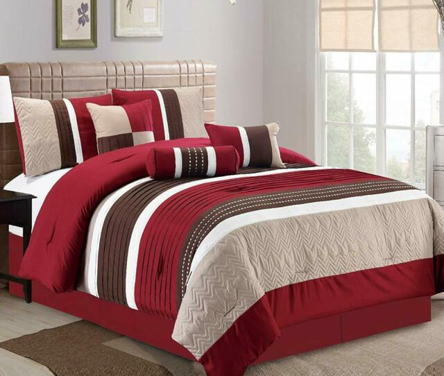 DCP 5-Piece Bedding Comforter Set Bed in a Bag,Royal Dynasty,Twin//Queen//King