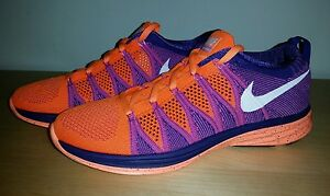 promo code 14222 9d067 Image is loading New-Nike-Flyknit-Lunar-2-Running-Shoes-Women-