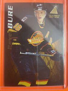1995-96 Pinnacle Zenith #9 Pavel Bure Vancouver Canucks