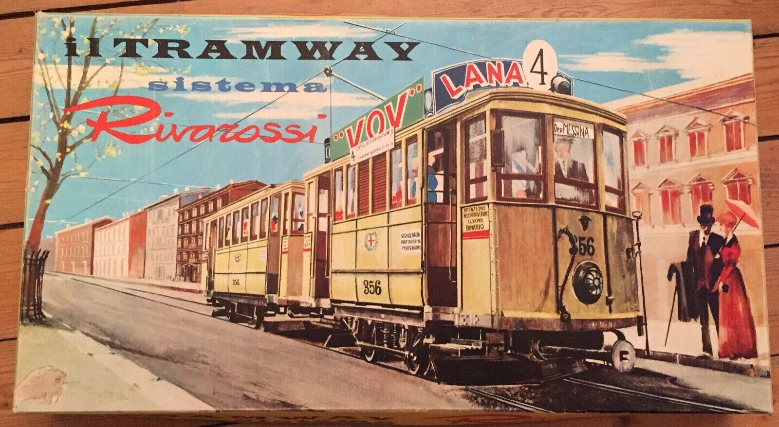 RIVAROSSI HO tramway  remorque en boite   6401 locomotive TRES RARE