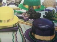 Festive Party/event Kit ( Assortment For 25 People )beads/hats/tiaras/mardi Gras
