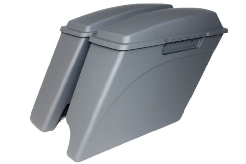 "1993-2013 2in1 4/"" extended stretch saddlebags for Harley Davidson Touring Models"