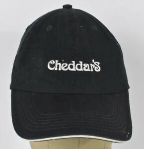 89251612abb Black Cheddar s Scratch Kitchen Co Embroidered Baseball Hat Cap ...
